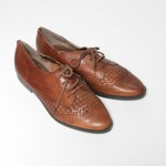 Vintage shoes ladies oxfords